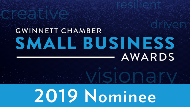 Clear Communication Solutions Nominee at Gwinnett Chamber of Commerce